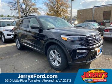 Black Metallic 2020 Ford Explorer XLT SUV Alexandria VA