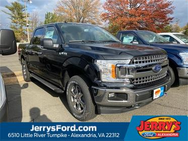 Black 2020 Ford F-150 XLT Crew Cab Pickup  VA