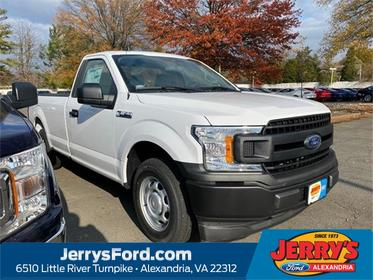 Oxford White 2020 Ford F-150 XL Regular Cab Pickup Alexandria VA