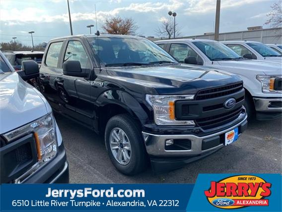 2020 Ford F-150 XL Crew Cab Pickup Slide 0
