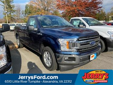 Blue 2020 Ford F-150 XLT Regular Cab Pickup Alexandria VA