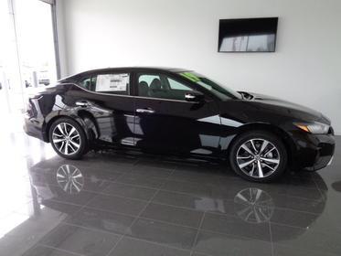Super Black 2019 Nissan Maxima SL 4dr Car Goldsboro NC