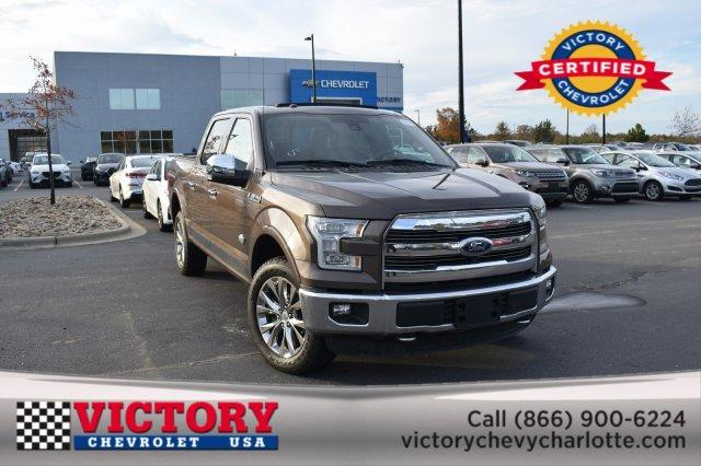 2016 Ford F-150 KING RANCH(SUNROOF!) Crew Cab Pickup Slide 0