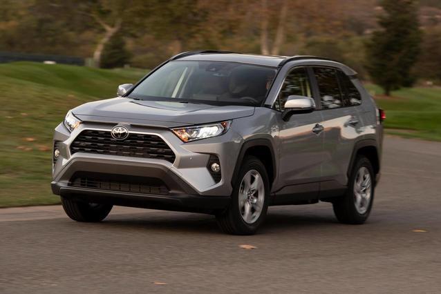 2020 Toyota RAV4 ADVENTURE ADVENTURE AWD Sport Utility Slide 0