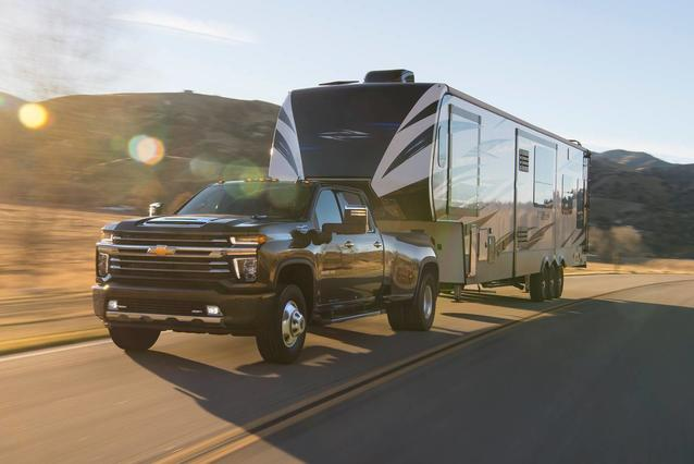 2020 Chevrolet Silverado 3500HD LTZ Slide 0
