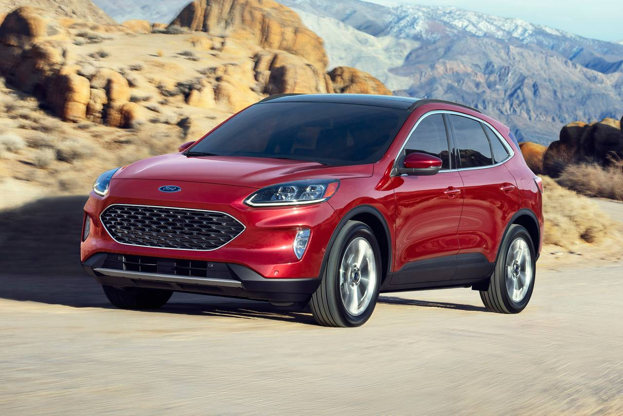 2020 Ford Escape TITANIUM HYBRID SUV Slide 0
