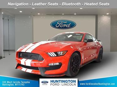 Race Red 2019 Ford Mustang Shelby GT350 2dr Car Huntington NY