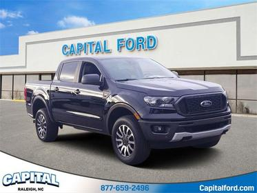 Shadow Black 2019 Ford Ranger XLT 4D Crew Cab Mooresville NC