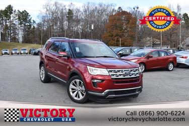 2019 Ford Explorer LIMITED SUV Slide