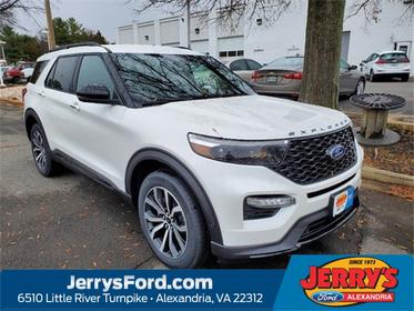 White 2020 Ford Explorer ST SUV  VA