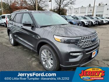 Magnetic 2020 Ford Explorer LIMITED SUV Alexandria VA