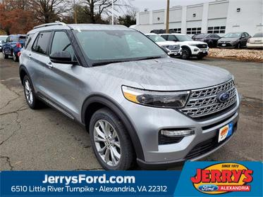 Silver Metallic 2020 Ford Explorer LIMITED SUV  VA