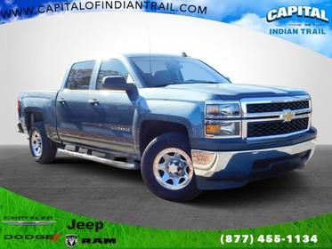 Blue 2014 Chevrolet Silverado 1500 Work Truck 2WD Crew Cab 143.5 Lexington NC
