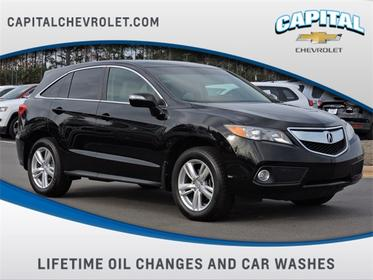Crystal Black Pearl 2015 Acura RDX Technology Package SUV Winston-Salem NC