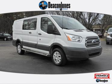 2016 Ford Transit Cargo Van T-250 130 Low Rf 9000 GVWR Swing-Out RH Dr  NC