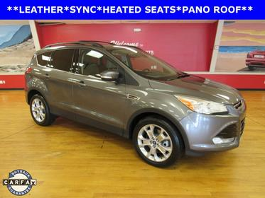 Sterling Gray Metallic 2013 Ford Escape SEL SUV Manassas VA