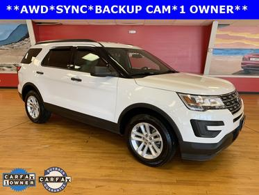 Oxford White 2017 Ford Explorer BASE SUV Manassas VA