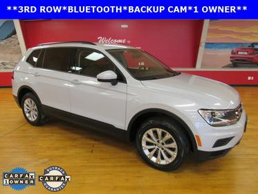 Pure White 2018 Volkswagen Tiguan S SUV Manassas VA