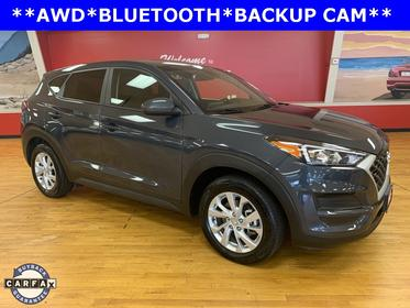 Coliseum Gray 2019 Hyundai Tucson SE SUV Manassas VA