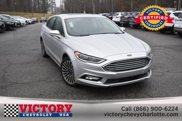 2018 Ford Fusion TITANIUM (SUNROOF!) 4dr Car Slide