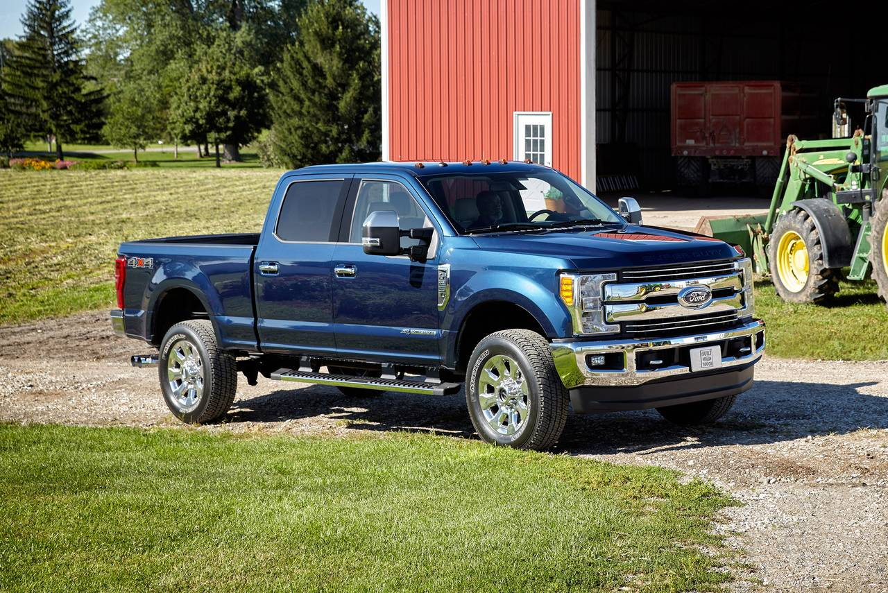 2020 Ford F-350SD LIMITED Crew Cab Pickup Slide 0