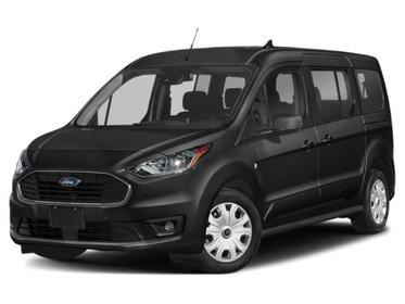 Shadow Black 2020 Ford Transit Connect Wagon TITANIUM Full-size Passenger Van Huntington NY