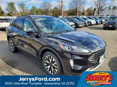 Black Metallic 2020 Ford Escape SEL SUV Alexandria VA