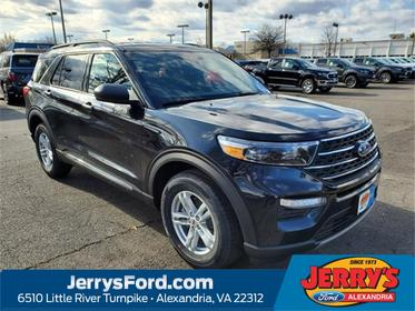 Black Metallic 2020 Ford Explorer XLT SUV  VA