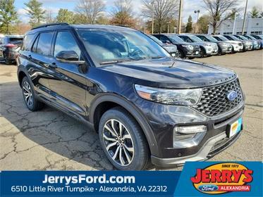 Black Metallic 2020 Ford Explorer ST SUV  VA