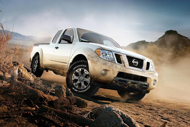 2019 Nissan Frontier S Extended Cab Pickup Slide 0