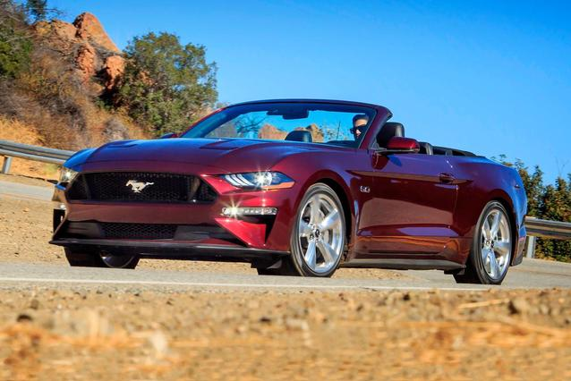 2018 Ford Mustang ECOBOOST PREMIUM Convertible Slide 0