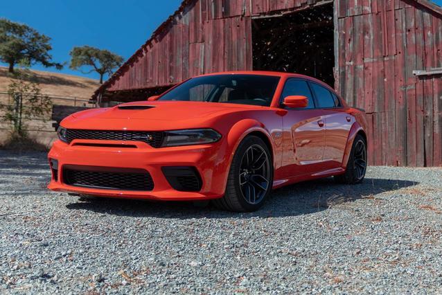 2020 Dodge Charger SRT HELLCAT 4dr Car Slide 0