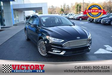 2018 Ford Fusion TITANIUM(SUNROOF!) 4dr Car Slide