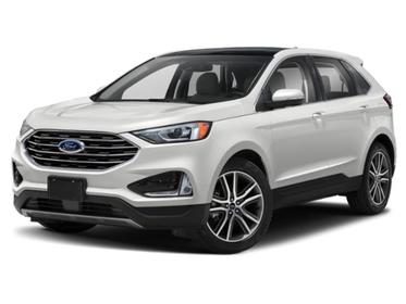 Oxford White 2020 Ford Edge SEL SUV Huntington NY