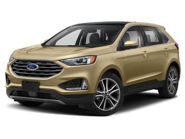 Desert Gold Metallic 2020 Ford Edge SEL SUV Huntington NY