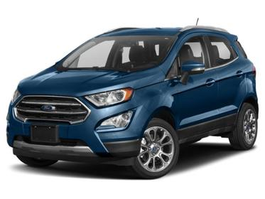 Lightning Blue Metallic 2020 Ford Ecosport SE SUV Huntington NY
