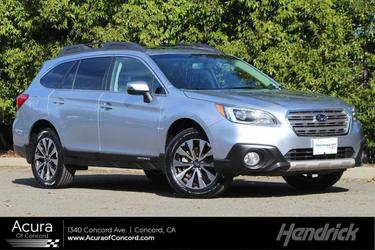 Ice Silver Metallic 2017 Subaru Outback 2.5i Limited North Charleston SC
