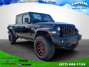 Black Clearcoat 2020 Jeep Gladiator SPORT S Crew Cab Pickup Indian Trail NC