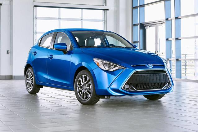 2020 Toyota Yaris Hatchback LE Slide 0