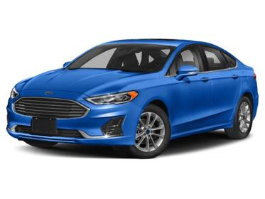 Alto Blue Metallic Tinted Clearcoat 2020 Ford Fusion Hybrid SEL 4dr Car Huntington NY