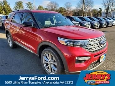 Red Metallic 2020 Ford Explorer Limited SUV  VA
