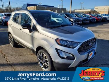 Silver Metallic 2020 Ford EcoSport SES SUV  VA