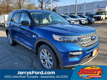Blue Metallic 2020 Ford Explorer LIMITED SUV  VA