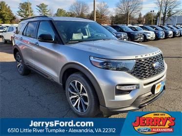 Silver Metallic 2020 Ford Explorer ST SUV  VA