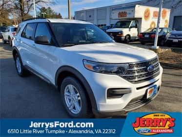 Oxford White 2020 Ford Explorer XLT SUV  VA