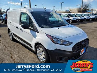 Frozen White Metallic 2020 Ford Transit Connect XL Van  VA
