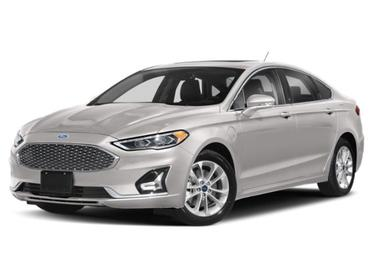 White Platinum Metallic Tri-Coat 2020 Ford Fusion Energi TITANIUM 4dr Car Huntington NY