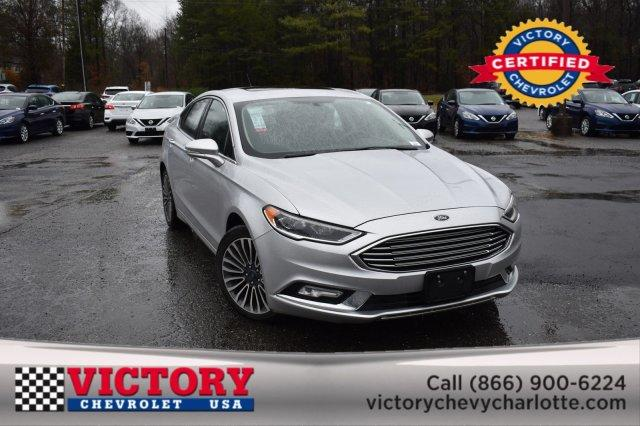 2018 Ford Fusion TITANIUM (SUNROOF!) 4dr Car Slide 0