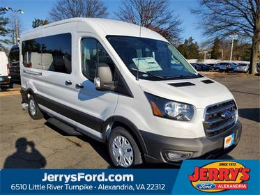 Oxford White 2020 Ford Transit-350 XL Van Alexandria VA