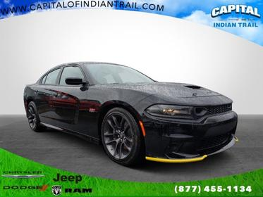Pitch Black Clearcoat 2020 Dodge Charger SCAT PACK 4dr Car Indian Trail NC